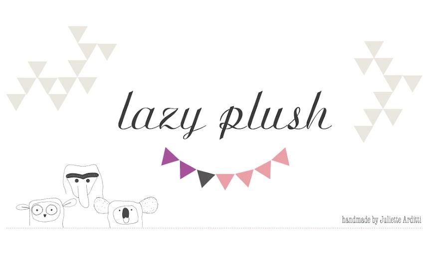 lazy plush