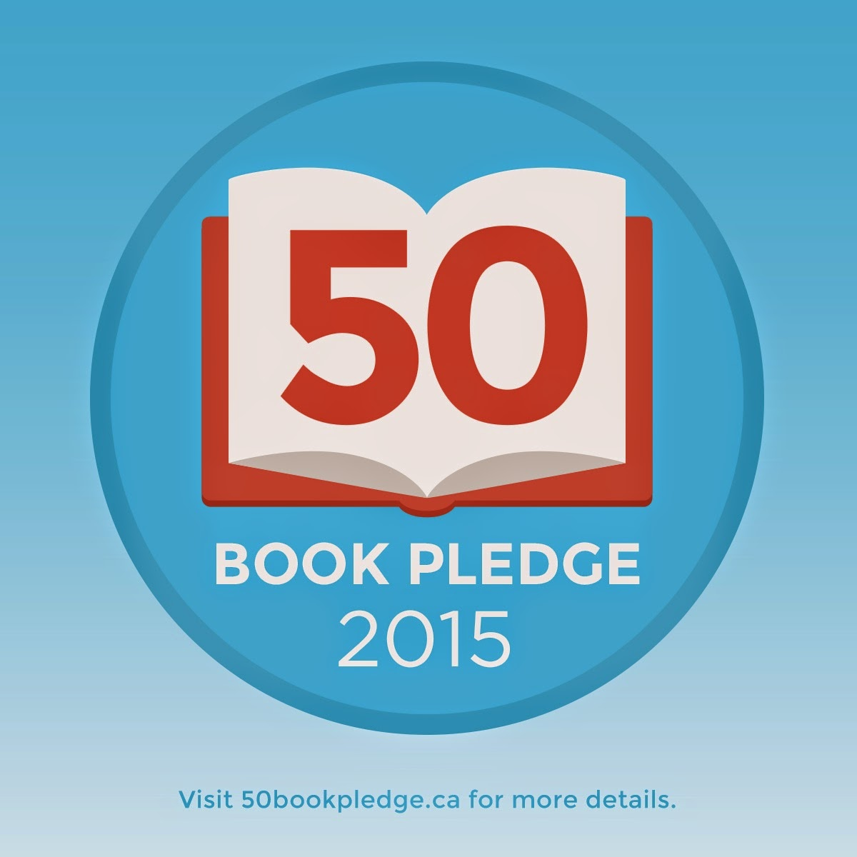 50 Book Pledge for 2015