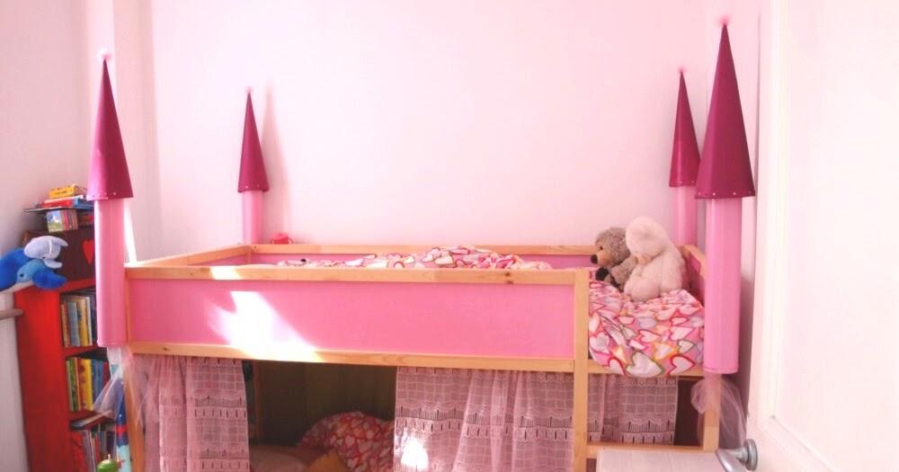A Creative Anna Diy A Castle Bunk Bed Letto A Castello