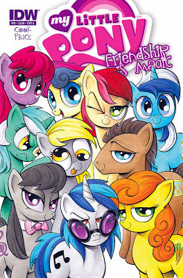 MLP:FiM comic issue 10 Cover A preview