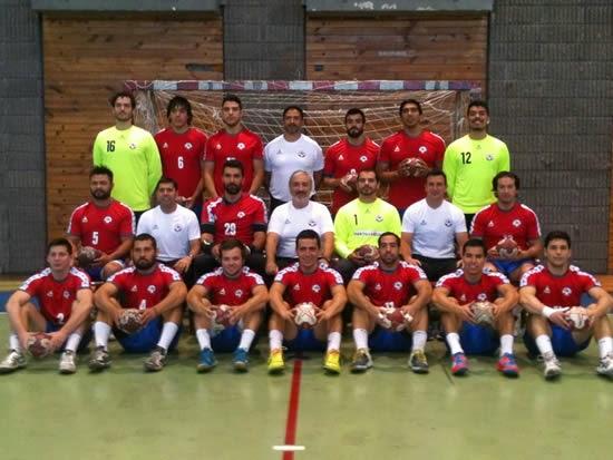 Selección chilena para el mundial de Qatar2015 | Mundo Handball