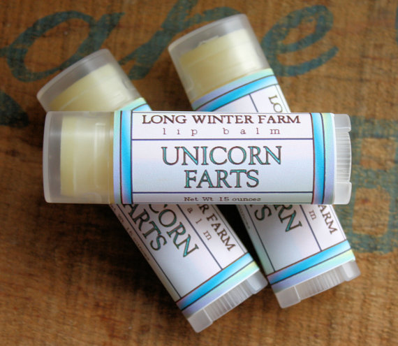 unicorn fart lip balm