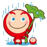 emoticones de peluche en la lluvia
