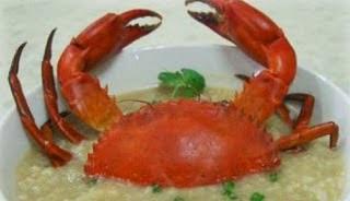 Resep Cara Membuat Bubur Kepiting Enak, bubur kepiting
