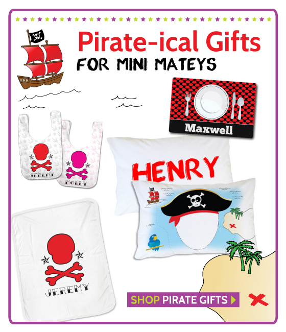 Pirate Presents for Babies and Kids