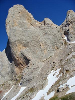 Escalada en el Picu Urriellu (Naranjo de Bulnes).