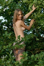 "Nina In ""Ukraine Trees"" At Just Nude"