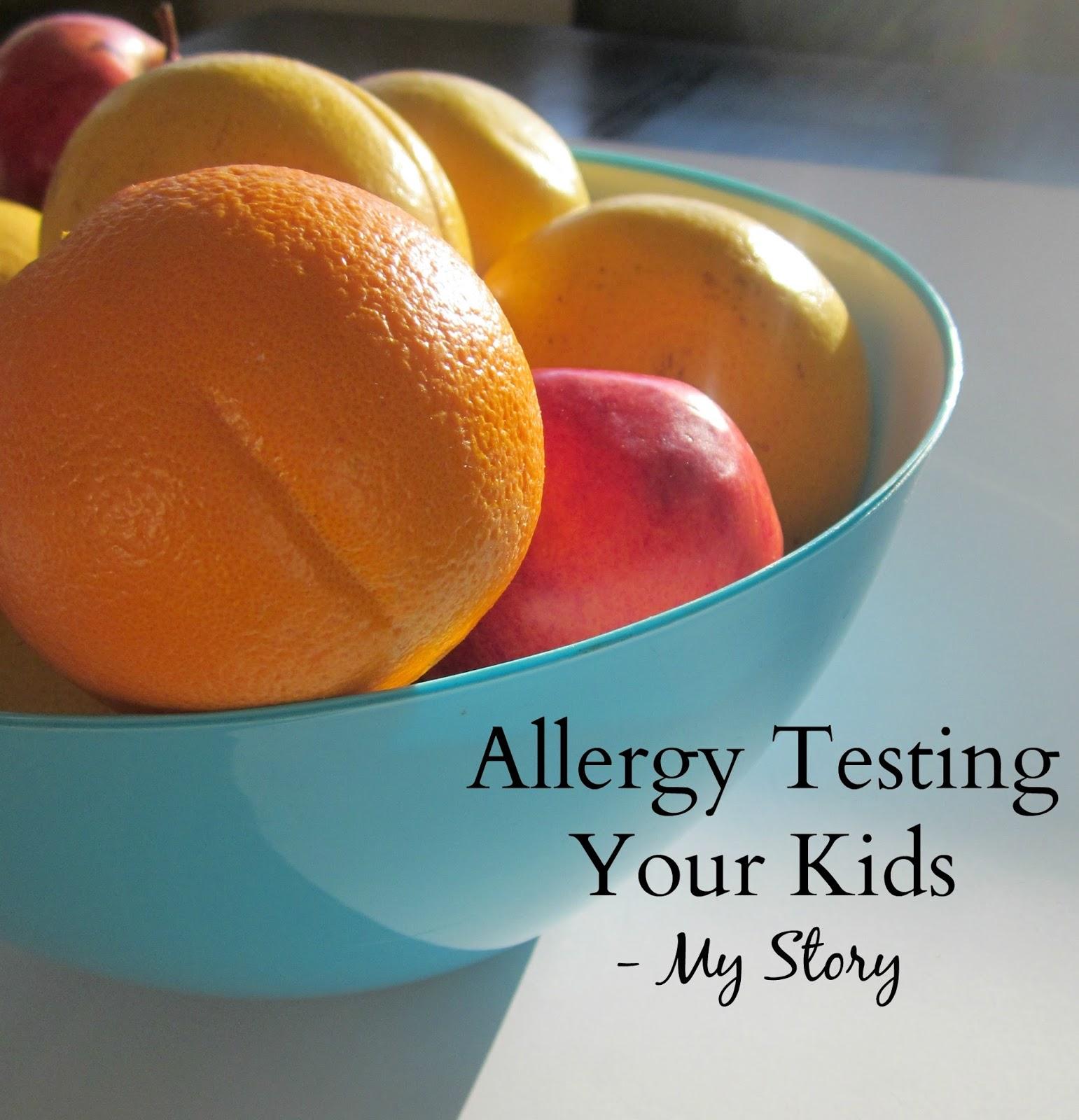 allergy testing kids