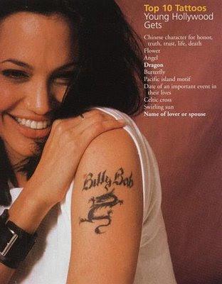 birthdate tattoos. angelina jolie tattoos how