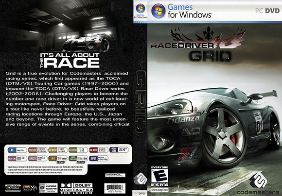 Posted in. . RACE DRIVER GRID PATCH v1.3 CRACK Only 177MB. . RAR file.