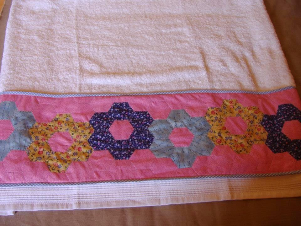 Entretelas y patchwork toallas personalizadas - Toallas infantiles personalizadas ...
