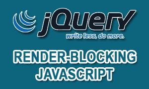 Render-Blocking Javascript Dari Jquery
