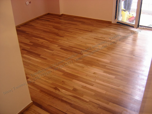 Συντήρηση ξύλινων δαπέδων
