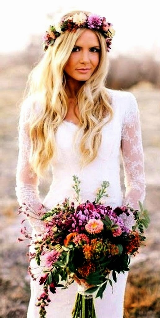 flower crown hairstyles pinterest}