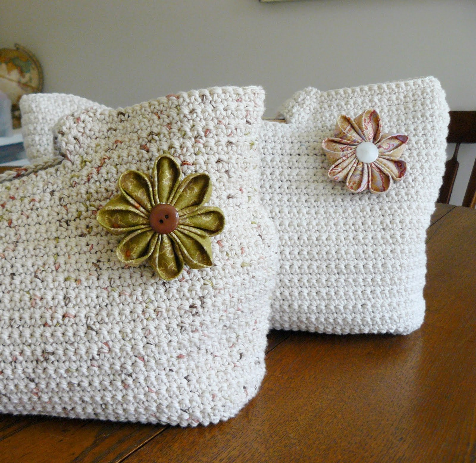Crochet Patterns For Mother s Day : The Woven Home: Crochet Projects: Mothers Day Totes
