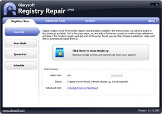 Free Download Glarysoft Registry Repair Pro 4.1.0.388 with Crack Full Version
