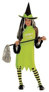 Halloween Kostume Heksepige