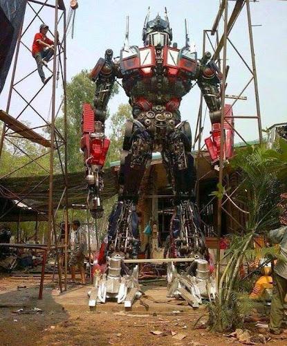 Optimus Prime em tamanho real