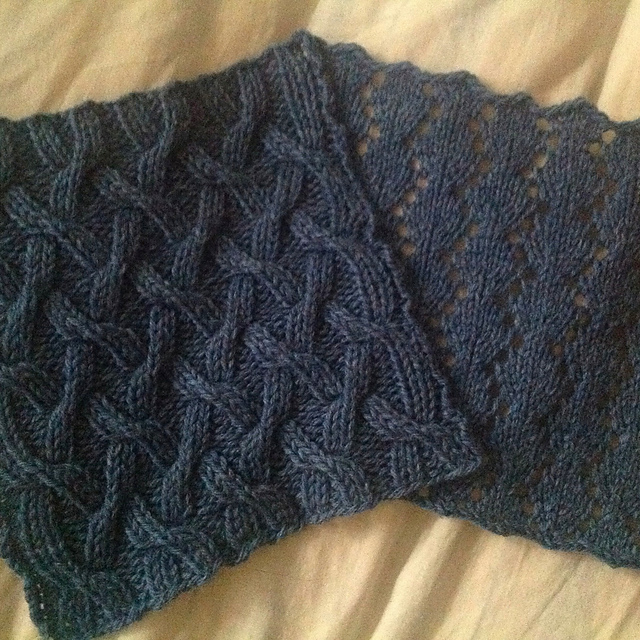 Knitting Stitch Variations : Stitch Therapy Knit Along: VARIATIONS on a BLANKET