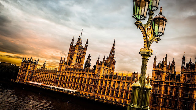 Westminster Palace London England HD Wallpaper