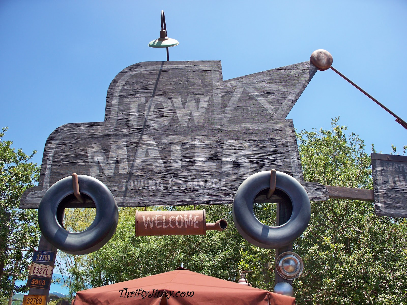 Visit Mater\'s Junkyard Jamboree - Cars Land at Disney California ...