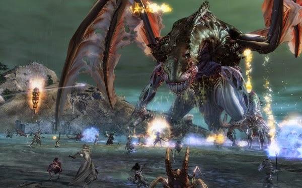 MMORPG Bosses getting stronger