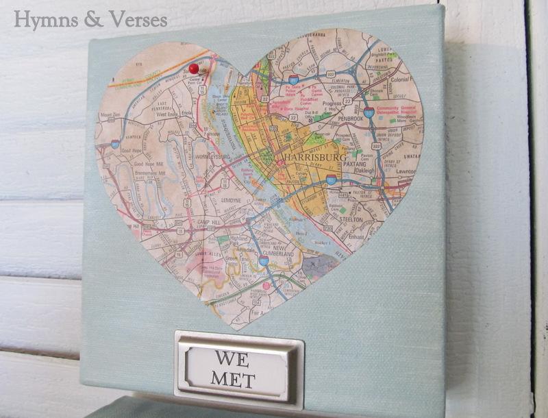 Mod podge diy love map art work debbiedoos mod podge diy love map art work gumiabroncs Gallery