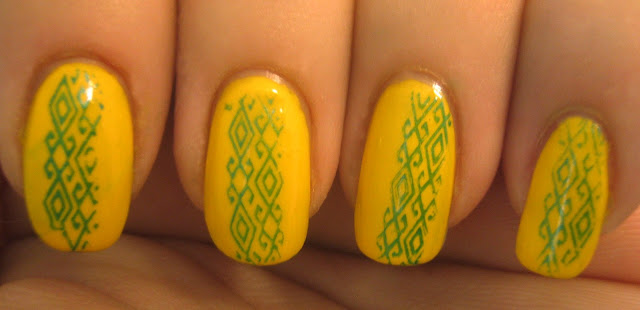 """Yellow Nails"""" title="""