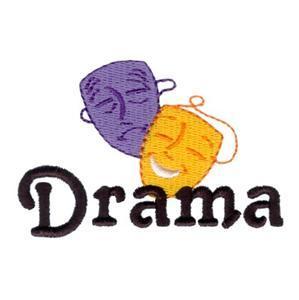 Drama Word Art