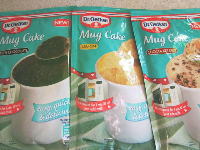 Dr Oetker Mug Cakes