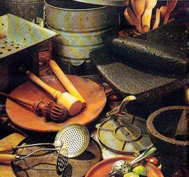 Labgourmet utensilios de la cocina mexicana for Instrumentos de cocina