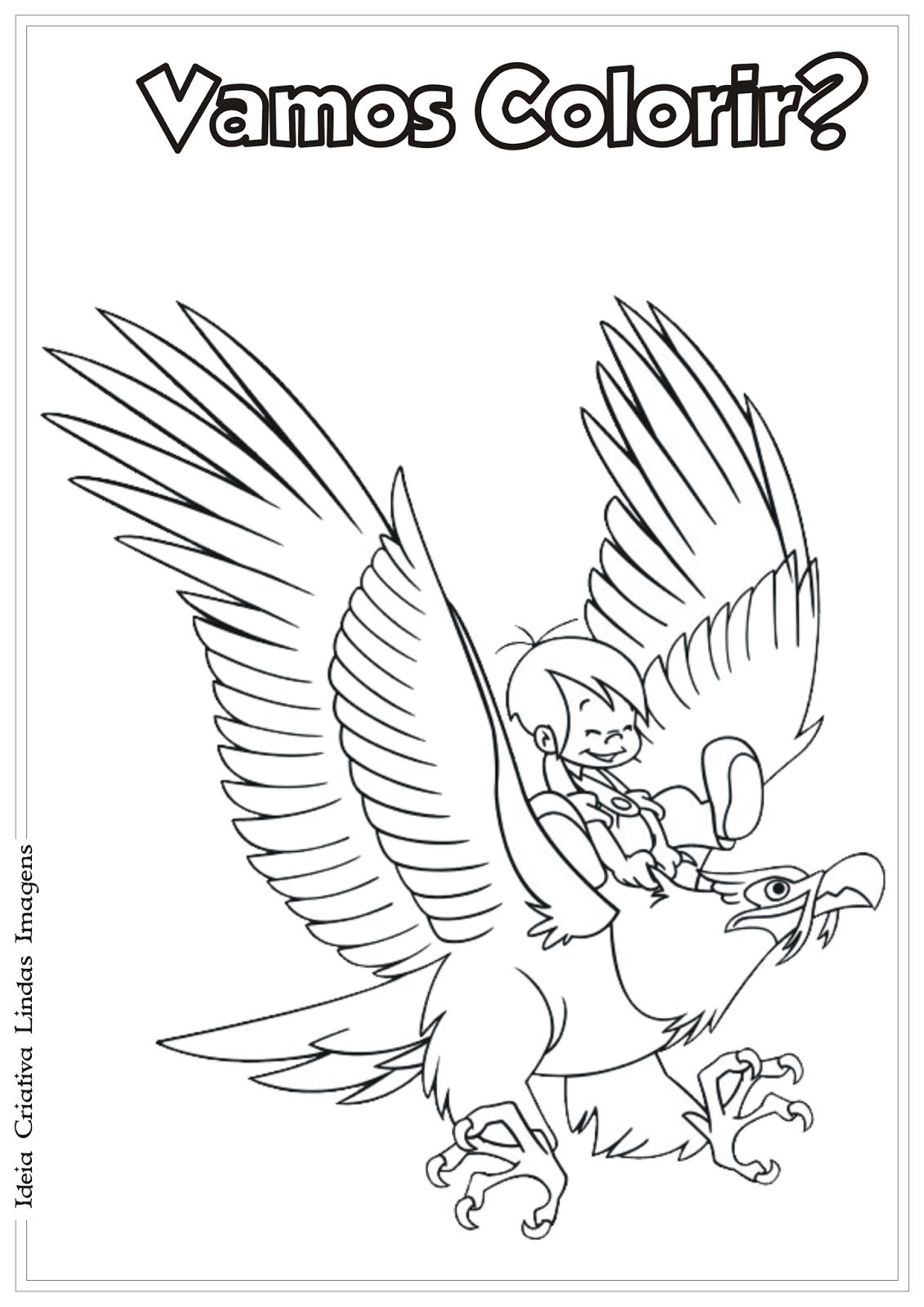 Marcelino desenho para colorir