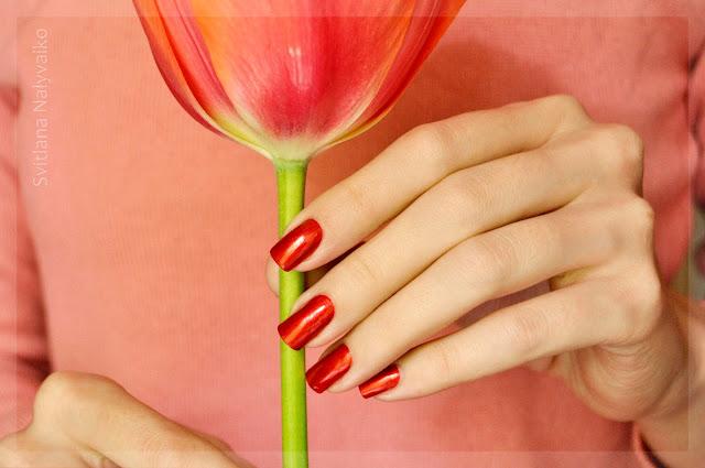 Красный лак для ногтей Belle Craft 467 red nail polish lacquer
