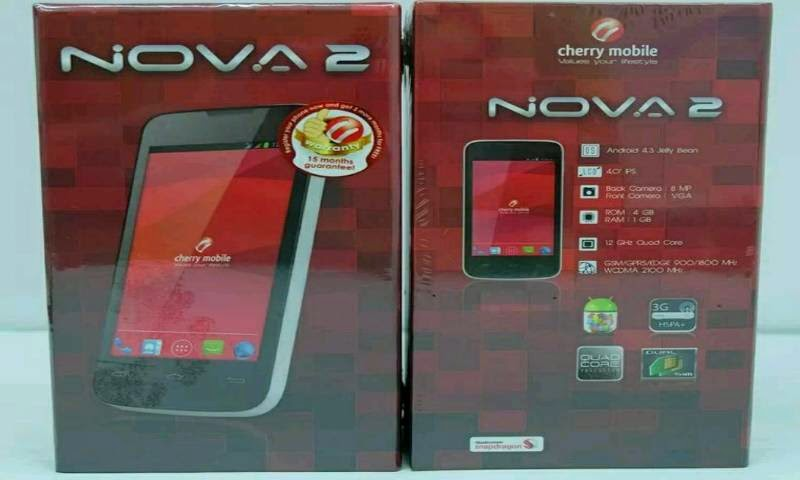 Cherry Mobile Nova 2.0 Now Available For Php3,899, 1.2GHz Quad Core Qualcomm MSM8610, Android 4.3, Pictures and Antutu Inside Box