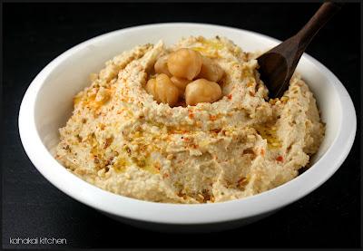 Kahakai Kitchen: Ottolenghi's Basic Hummus