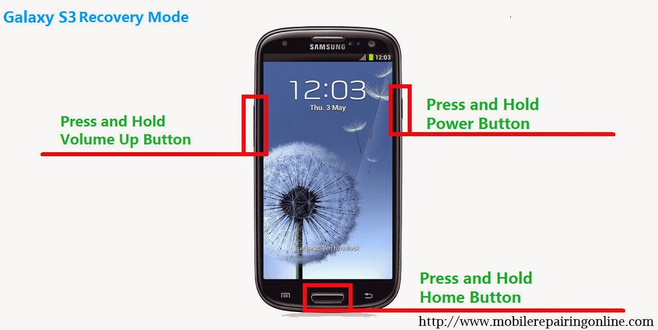 how to make android program recovery mode hard reset samsung