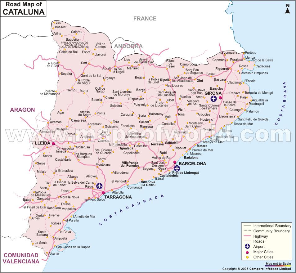 Lleida Spain  City new picture : Lleida Mapa Ciudad de la Región | España mapa de la ciudad