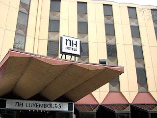 NH Hoteles Luxemburg: prima en betaalbaar hotel dat net buiten het centrum van Luxemburg-Stad ligt