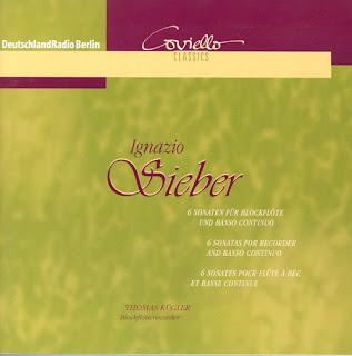Sieber, I: Recorder Sonatas Nos. 1 - 6