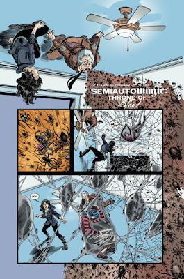 Semiautomagic, Throne of Blood, comic, dark horse,
