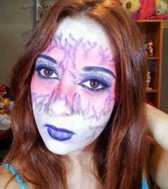 maquillaje de bruja por marta rodriguez