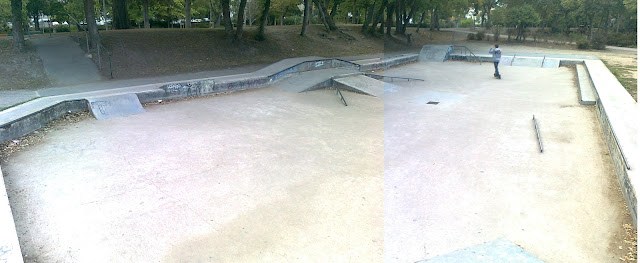 skatepark la rochelle parc charruyer
