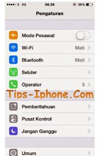 Memunculkan Personal Hotspot iPhone Yang Hilang