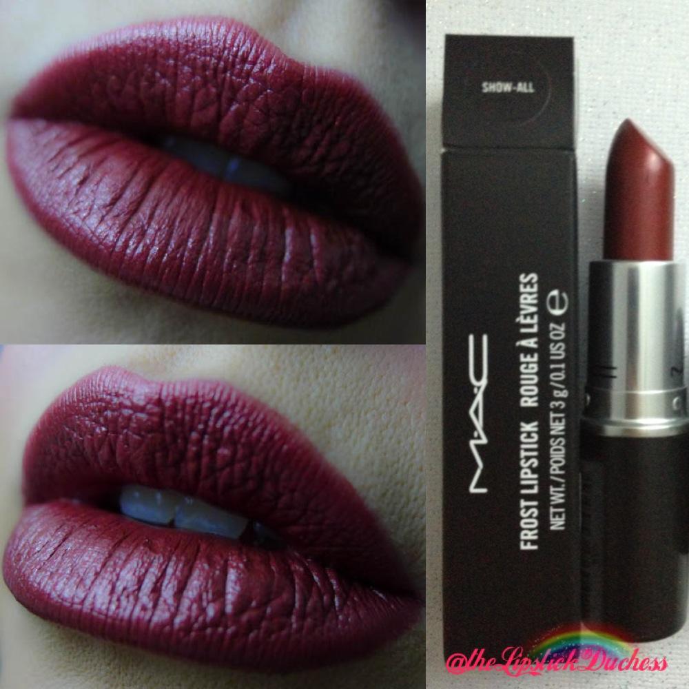 The Lipstick Duchess: Mac Nudes and Metallics - Fall 2013