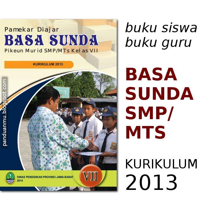 buku mulok sunda SMP kurikulum 2013