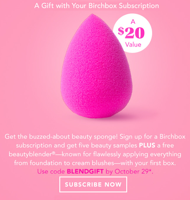 birchbox beauty blender