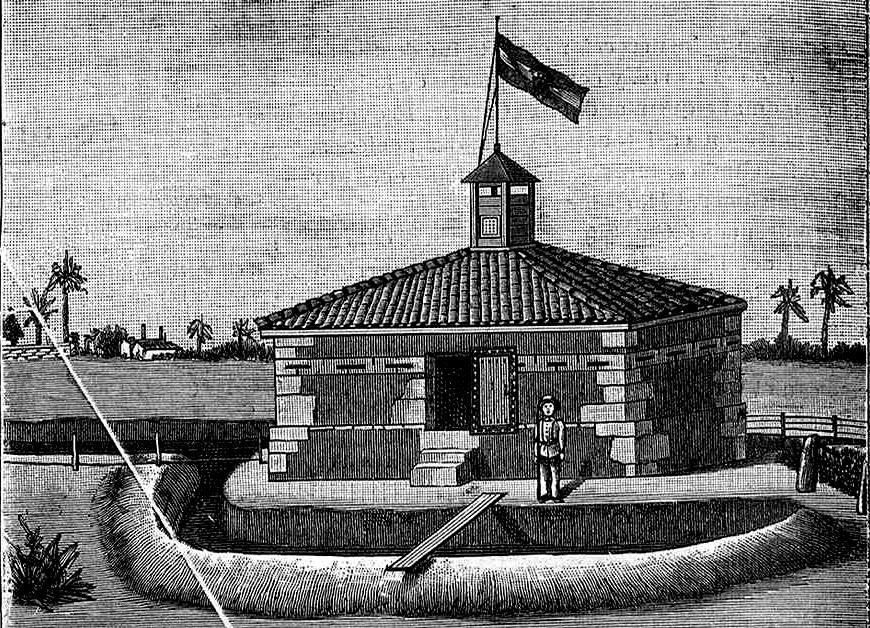 Fortín Girón, en Matanzas (Cuba)