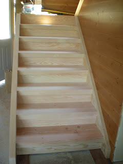 Douglas fir timber framed stairs,  http://huismanconcepts.com/