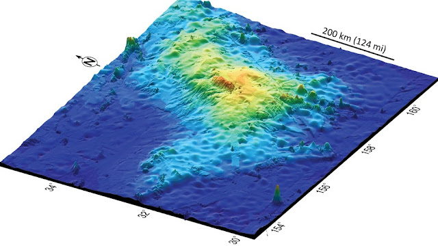 World's Largest Volcano Discovered Off the Coast of Japan
