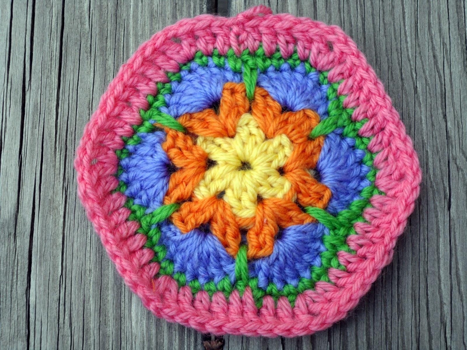 Easy African Flower Crochet Pattern : Easy Crochet Pattern: Granny Gone Wild Crochet Along